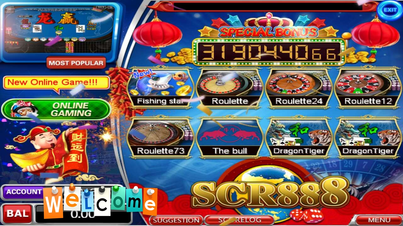 SCR888 Slots Games Best in Malaysia
